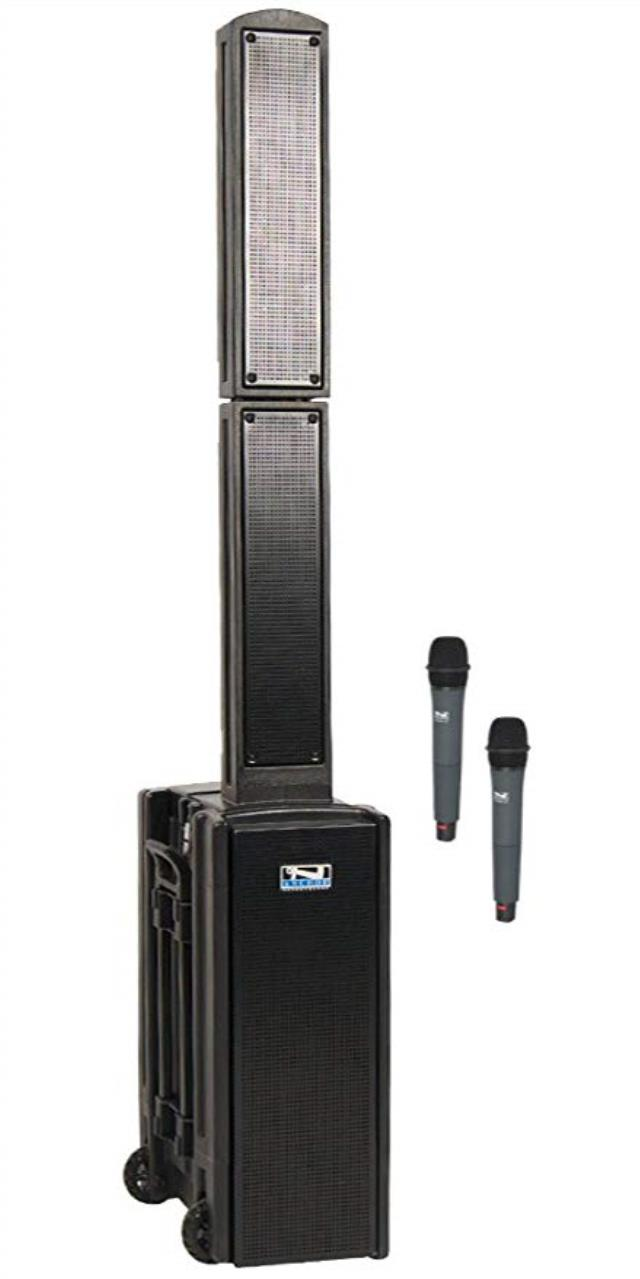 Where to find SOUND SYSTEM BLUETOOTH W 2WIRELESS MIC in Boone