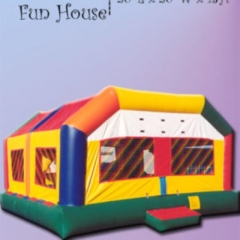 Rental store for BOUNCE-JUMBO CASTLE 20X20 in Boone NC
