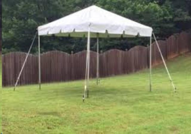 Where to find CANOPY 15X15 FRAMED WHITE in Boone