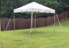 Rental store for CANOPY 15X15 FRAMED WHITE in Boone NC