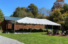 Rental store for CANOPY 20X40 FRAME WHITE in Boone NC