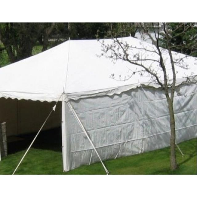Where to find CANOPY WALLS WHITE 30 X7 in Boone