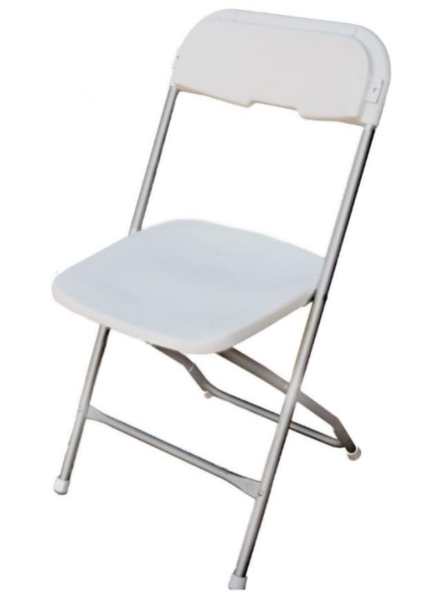 Where to find CHAIR WHITE WEDDING ALUMINUM in Boone