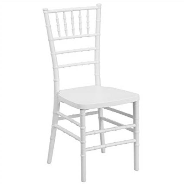 Where to find CHAIR CHIAVARI WHITE in Boone