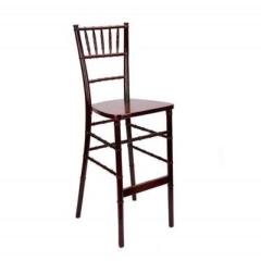 Rental store for BAR STOOL CHIAVARI DARK FRUITWOOD in Boone NC