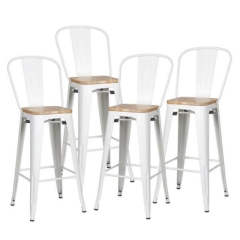 Rental store for BAR STOOL ELIO W  CHAIR BACK in Boone NC