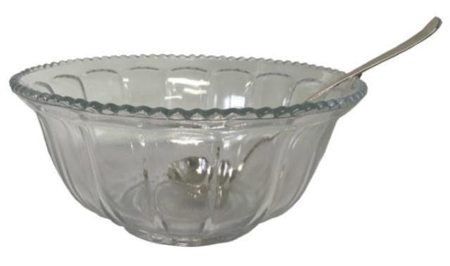 Where to find PUNCH BOWL CLEAR GLASS in Boone
