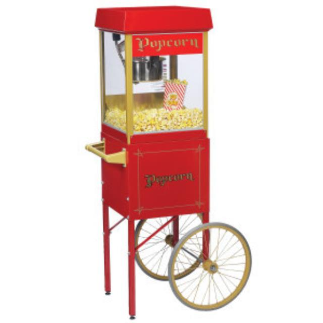 Where to find POPCORN POPPER W  CART in Boone