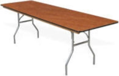 Rental store for TABLE 6FT X 30  SEATS 6-8 in Boone NC