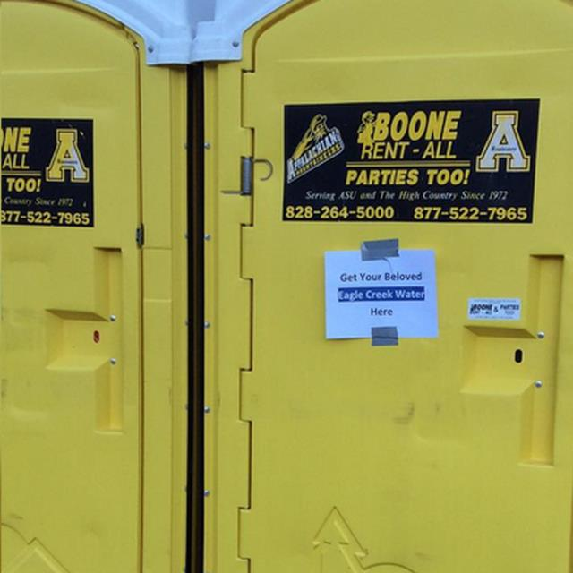 Where to find PORTABLE RESTROOM SPECIAL EVENT ASU in Boone