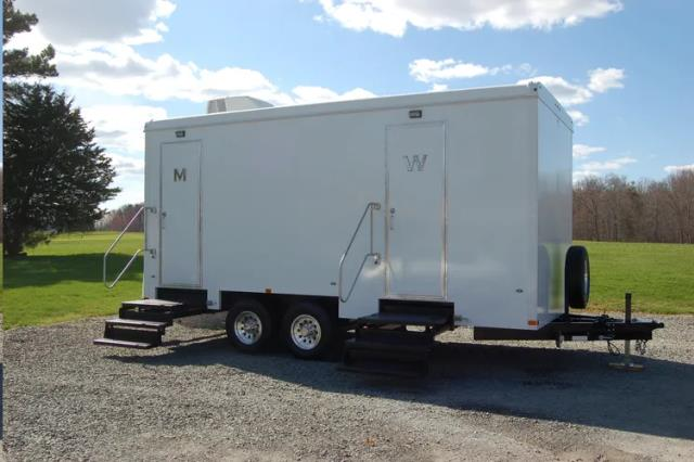 Where to find PORTABLE RESTROOM TRAILER in Boone