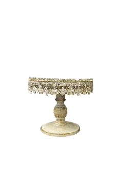 Rental store for CAKE STAND ANTIQUE WHITE 16 in Boone NC