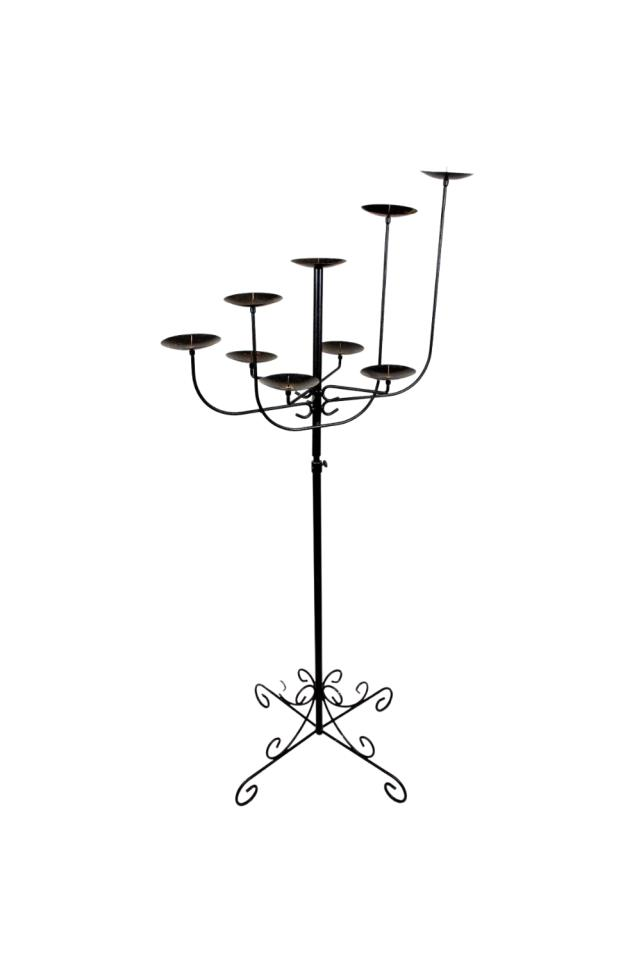 Where to find CANDELABRA WROUGHT IRON 9 BRANCH in Boone
