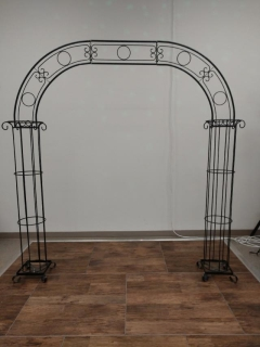 Rental store for CANDELABRA WROUGHT IRON ARCH in Boone NC