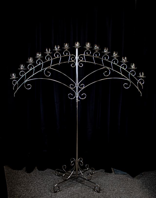 Where to find CANDELABRA SILVER 15 BR ARCH in Boone