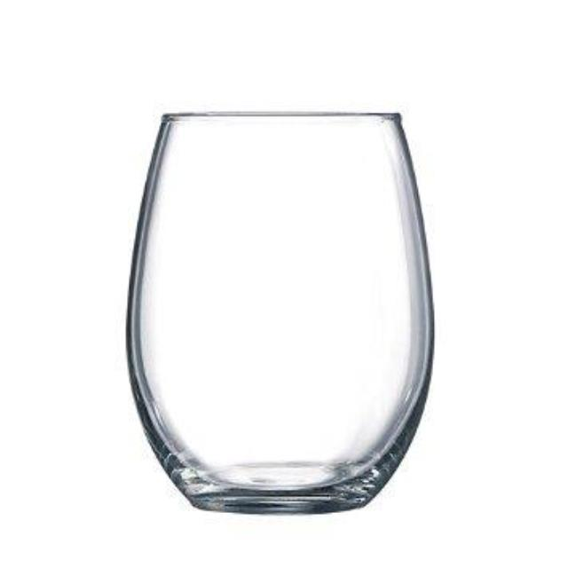 Where to find GLASS WINE STEMLESS 15OZ in Boone