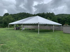 Rental store for CANOPY 40X15 CLEAR MID FUTURE TRAC in Boone NC