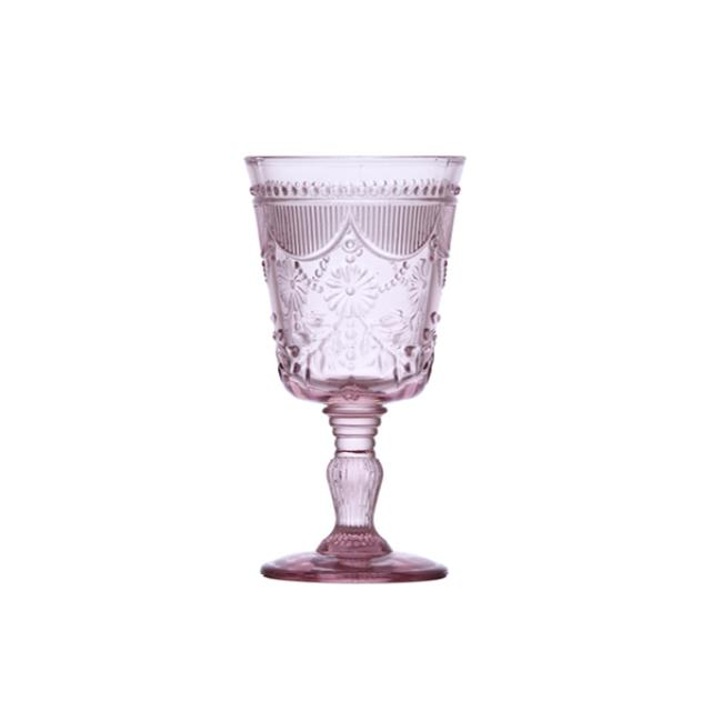 Where to find GLASS DEBUTANTE GOBLET 10oz PINK in Boone