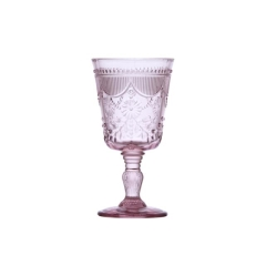 Rental store for GLASS DEBUTANTE GOBLET 10oz PINK in Boone NC