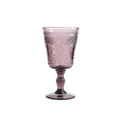 Rental store for GLASS DEBUTANTE GOBLET 10oz PURPLE in Boone NC