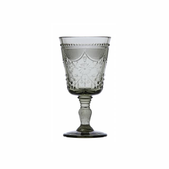 Where to find GLASS DEBUTANTE GOBLET 10oz SMOKE in Boone