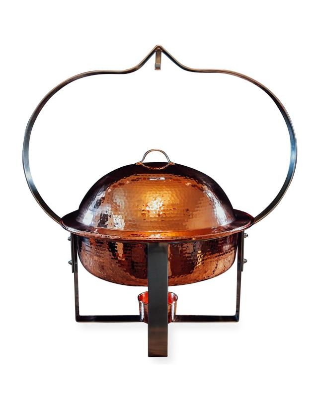 Where to find CHAFER COPPER 6QT ROUND in Boone
