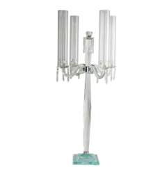 Rental store for Table Candelabra Glass 36 in Boone NC